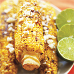 Chili Lime Rubbed Grilled Corn